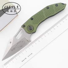 Kitchen Knife Mark-M390 JUFULE Folding Blade Edc-Tool Outdoor-Gear Aluminum-Handle Tactical