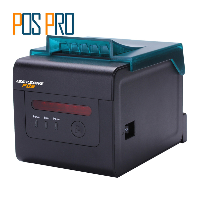 ITTP057 High Quality thermal printer 80mm,Pos label printer,automatic cutter,USB+Serial+Ethernet Port,ESC/POS