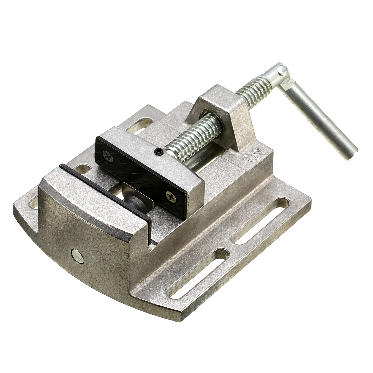 1pc Aluminum Alloy Bench Drill Vise Clamp Jaw Table Vice Grinding Drilling Flat Pliers CNC Worktable Milling Machine Tool aluminium alloy flat tongs vice cnc milling machine tools bench drill vise fixture