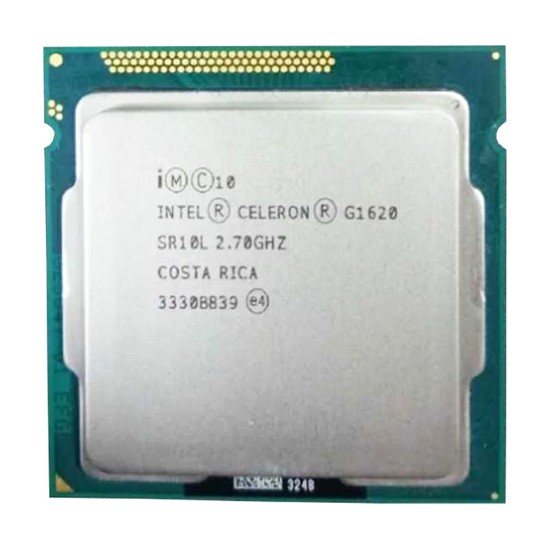 Intel Celeron G1620 Processor Dual-core CPU LGA1155/2.6Ghz 2m/compatibility H61 H81 B85 B75 Motherboard G1610 -1630 Have A Sale