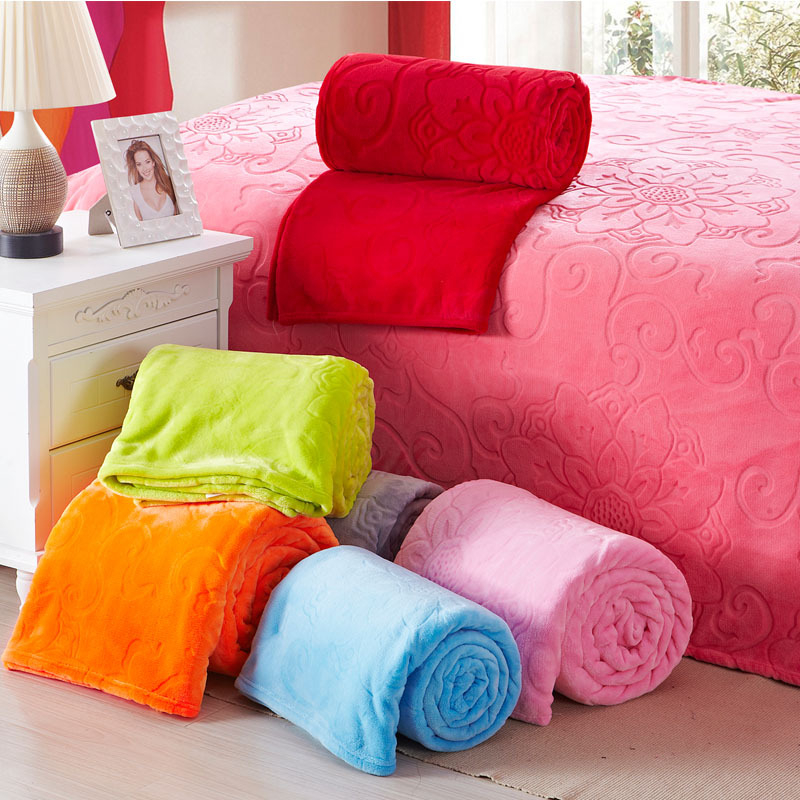 Flannel Coral Fleece Blanket Solid Soft Blanket Thick Warm Winter Flat Bedsheet Cobertor Twin Queen King Blankets For Beds A84 [zob] 100% new original omron omron proximity switch e2e x1r5y1 2m factory outlets