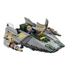 LEPIN 05030 Star Wars Vader Tie Advanced VS A-wing Starfighter Model Minifigure Building Blocks Brick Toys Compatible LEGOed Kid