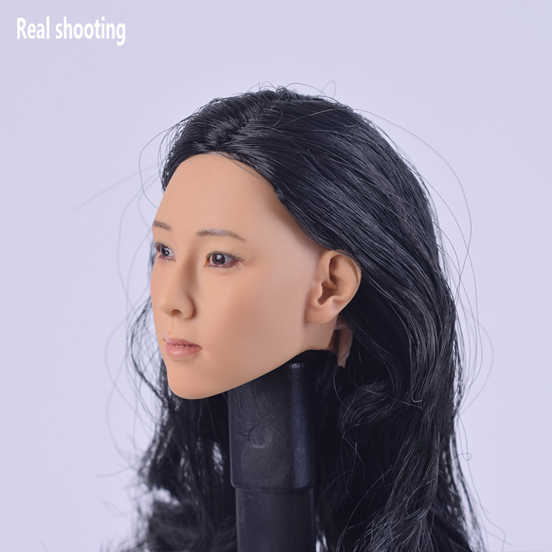 1:6 Scale Female WOMEN Boucles Head Sculpt F Phicen TBLeague PH Figure Body
