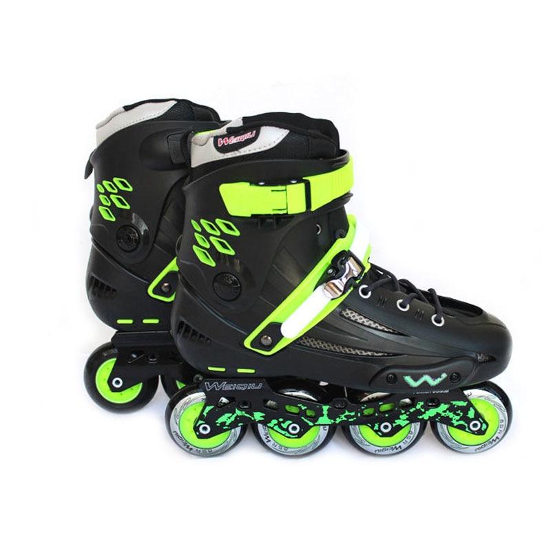 Inline Speed Skates Professional Street Slalom Sliding Quad Skate Shoes Patines En Linea Good As Seba Roller Skates Adult IA60 professional roller skates shoes street slalom sliding inline skates shoes pu roller aluminum alloy frame quad skates ia55
