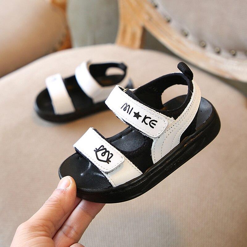 Zaizaile 2018 zomer peuter echt lederen strand sandalen kinderen mode - Kinderschoenen - Foto 3