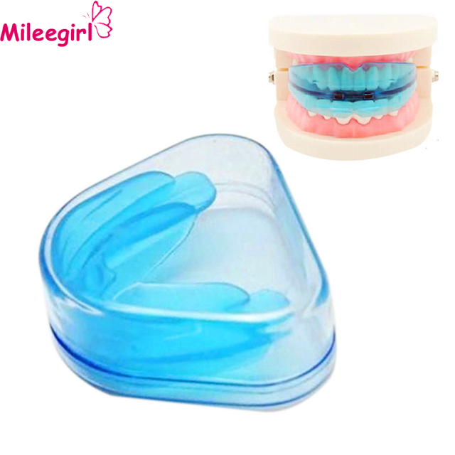 Mileegirl Utility Tooth Orthodontic Appliance,Blue Silicone Pro ...