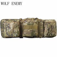 85CM New Tactical Heavy slip Carrying Dual Rifle Case Gun Bag for M4 Hunting Airsoft Military Shoulder Pouch Fishing Backpack