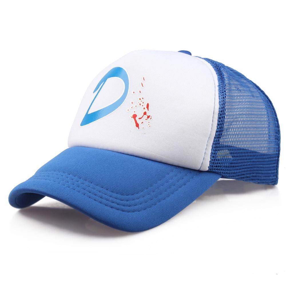 The Walking Dead Game Girl Clementine Clem's   Caps   Adjustable Women Zombie Killer Summer Cool Trucker   Baseball     Caps   Hats