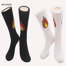 Mens cotton baseball socks | feet on fire!