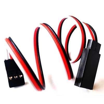2 stks/partij 100 MM 150 MM 300 MM Servo Verlengkabel Voor Futaba JR Lead Wire Kabel RC Deel DIY speelgoed FPV Vliegtuig Afstandsbediening