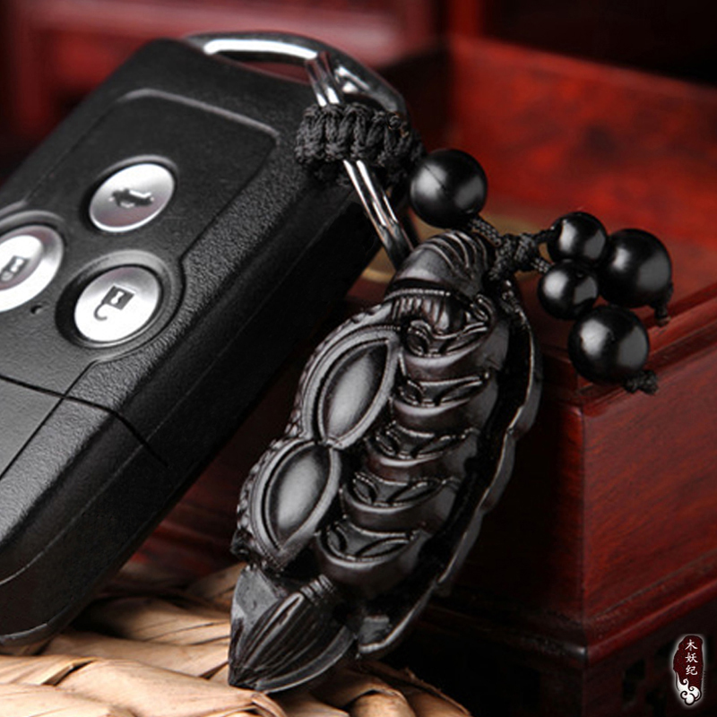 Luxury Car Key Fob Key Ring Pendant Creative Way Of Making Money