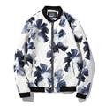 Fashion Men Jackets New Arrivals Men Slim Fits Flowers Jackets 2016 Male Fashion Coats Plus Size 5XL Chaquetas De los Hombres