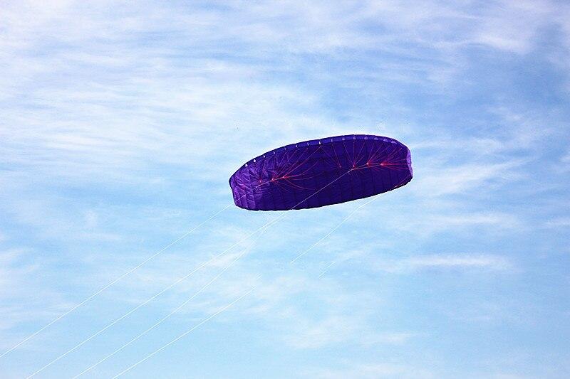 Nouvelle arrivée 9 carré quatre lignes cerfs-volants PARAFOIL PARACHUT SPORTS plage cerf-volant facile à voler pour le plaisir des jouets en plein air