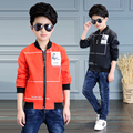 2017 spring and autumn fashion classic children's jacket boy 4-13 years old Givenchy patch short jacket