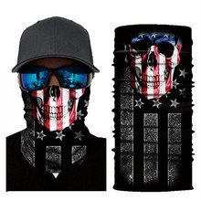 Biker Bandanas (5 pcs/lot) DC001-DC016 Outdoor Hat Cycling Turban Head Scarf Sports Face Mask
