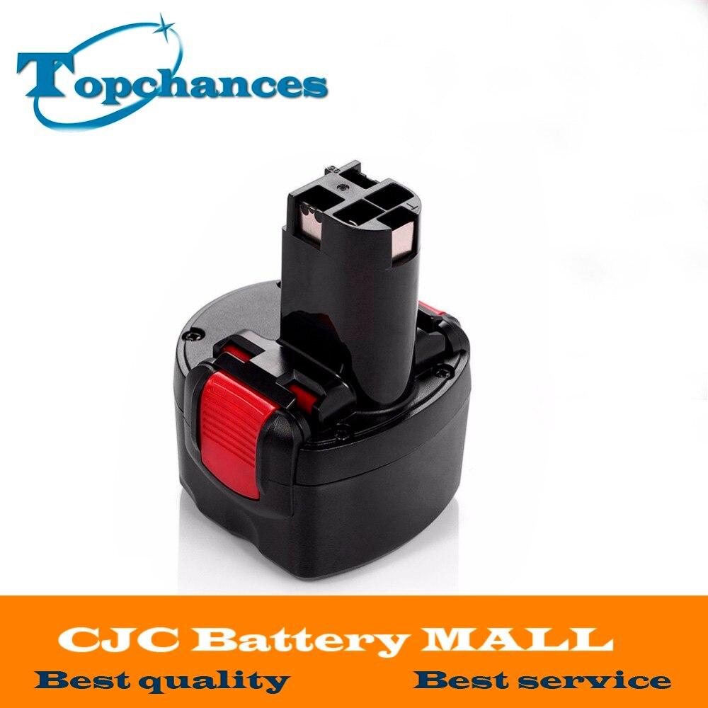 Высококачественная аккумуляторная батарея BAT048, 9,6 В, 2000 мА/ч, батарейки Powr для инструментов Bosch PSR 960 2 607 335 272 32609-RT Ni-CD