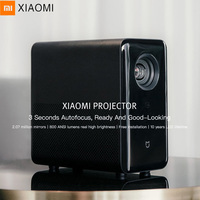 Xiaomi TYY01ZM DLP Projector 3500 Lumens Quad Core T968 Cortex A53 2GB + 16GB Android 6.0 Dual Band WiFi Support 4K Home Theatre