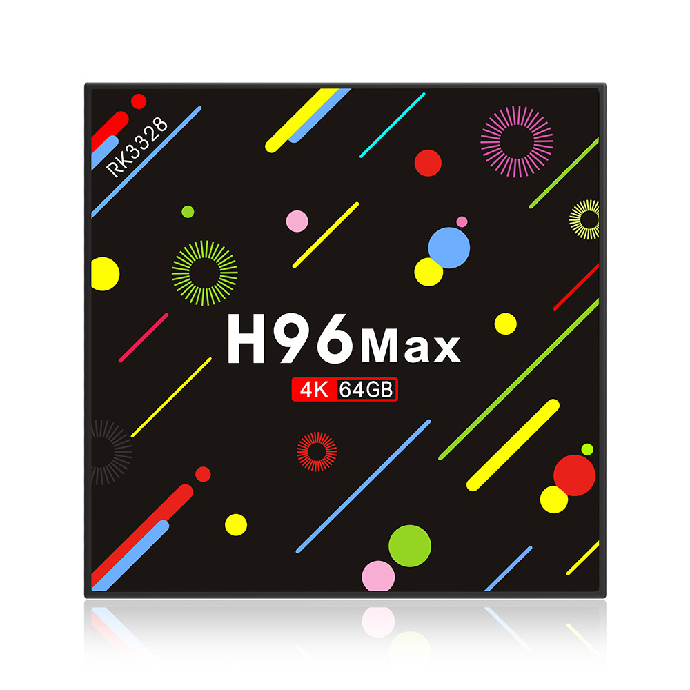 все цены на 2018 New H9 Max TV Box Android 7.1 RK3328 Quad-core 4GB/64GB WiFi Bluetooth Smart TV Box HD 4K Media Player Tvbox Set-top Box