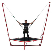 New Coming Russia Trampoline Park Rocket Bungee Trampoline Bed 4 in 1 bungee trampoline accessories trampoline bungee harness