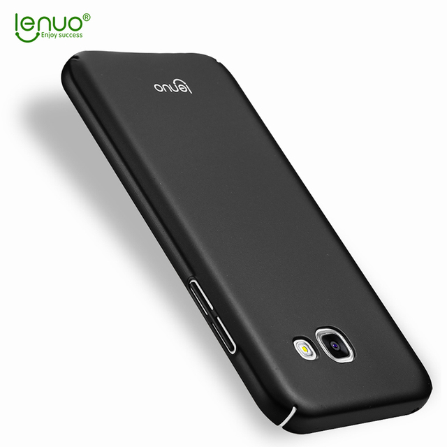 big sale 99eb8 f42aa US $5.65 15% OFF For Samsung Galaxy A5 2017 A520F Cover Original Lenuo Hard  Case Hight Quality Phone Shell For Samsung Galaxy A5 2017-in Fitted Cases  ...