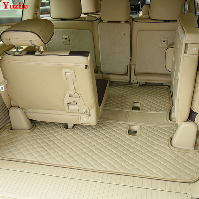 yuzhe custom car trunk mat for toyota land cruiser prado 120 150 200 cargo liner interior. Black Bedroom Furniture Sets. Home Design Ideas