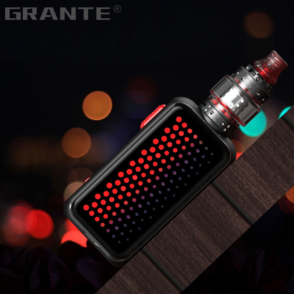 Grante Vape Box Mod Kit 3.5ml Top Filling Atomizer With 0.5 ohm Coil Without 18650 Battery Vape Mod Vaporizer VS SMOK X-Priv Kit6