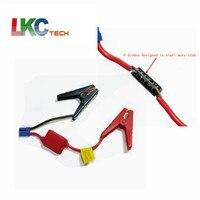 50 шт./лот DHL Бесплатная Разъем аварийного Соединительный кабель зажим Booster Батарея Зажимы для универсального 12 В автомобиля Батарея автомоб