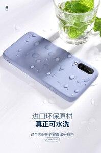 Image 5 - For Xiaomi Mi A3 Case Soft Liquid Silicone Slim Skin Coque Protective back cover Case for xiaomi mi a3 lite a3lite phone shell