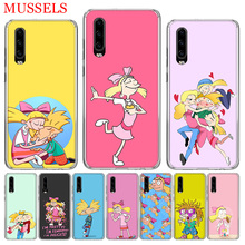 Hey Arnold Fondos Phone Case for Huawei P30 P20 Mate 20 10 Pro P10 Lite P Smart + Plus 2019 Customized Cover Cases Capa Coque