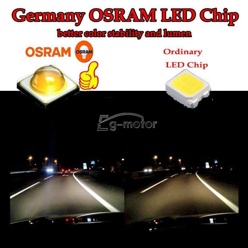 12V 9006 80W LED žarnica Super svetla 6000K 760LM ZA - Avtomobilske luči - Fotografija 5