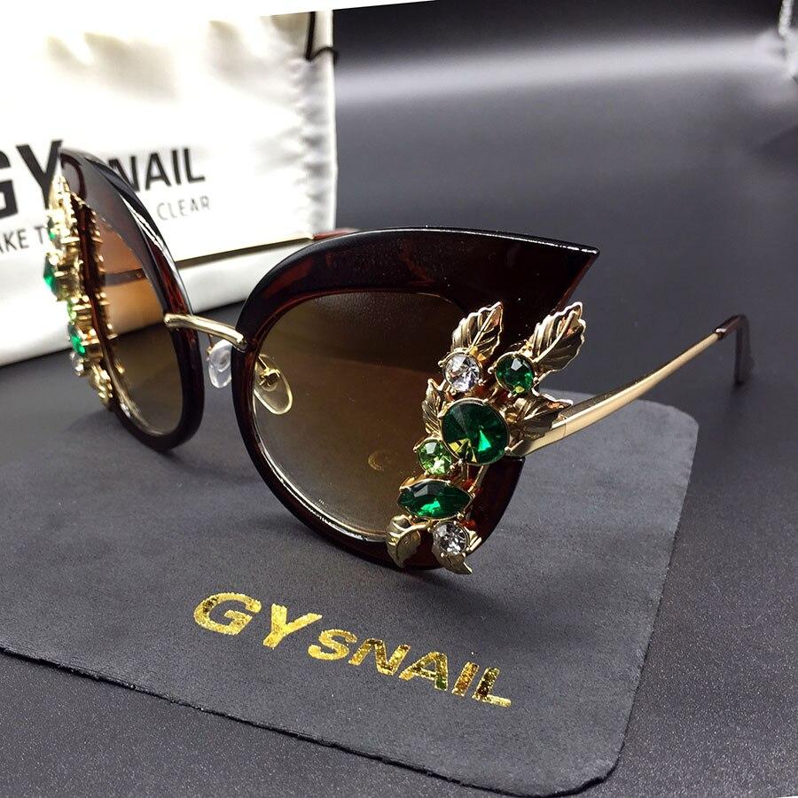 GY snail fashion cat eye sunglasses s