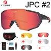 Óculos 5 lentes polarizadas para ciclismo, armação para miopia, óculos de sol para andar de bicicleta e esportes ao ar livre, unissex, X-TIGER 7