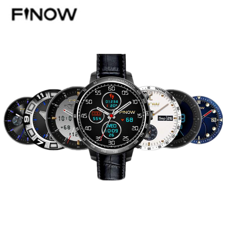 FINOW Q7 Plus 3G Smartwatch Phone 1.3 Inch Android 5.1 MTK6580 1.2GHz Quad Core 8GB ROM 2.0MP Camera Pedometer GPS finow x5 air 3g smartwatch phone 1 39 inch android 5 1 mtk6580 quad core 1 3ghz 2gb ram 16gb rom gps bluetooth 4 0 pedometer