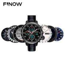 FINOW Q7 Plus 3G Smartwatch Telefon 1,3 Zoll Android 5.1 MTK6580 1,2 GHz Quad Core 8 GB ROM 2.0MP Kamera GPS schrittzähler