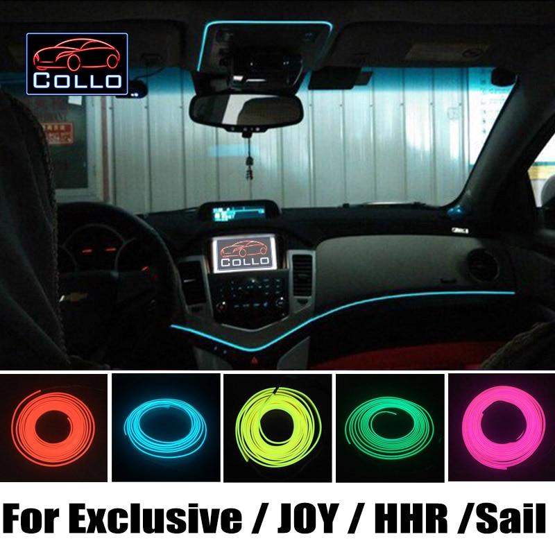 ⊹Flexible Neon Cold Light / 9 Meter EL Wire For Chevrolet Exclusive ...