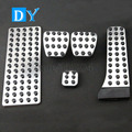 No Drill Foot Rest Gas Brake Pedal Fuel Pedals MT For Benz W124 W210 W211 W212 S212 W207 E200 E220 E250 E300 E350 E500