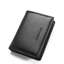 Mens Card Package Business Holder PU Leather Credit Wallet Sets