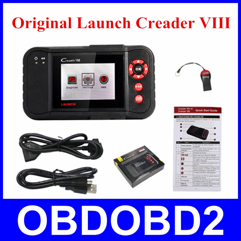 New Arrival Code Reader Launch Creader VIII Launch creader 8 100 Original ENG AT ABS SRS