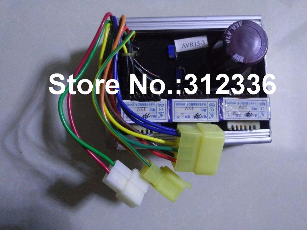 Free Shipping AVR15-3 Three Phase 400V AVR generator suit kipor KDE20T3 KDE12E3 KG12E3 KDE19E3 Kama Automatic Voltage Regulator free shipping gasoline generator welder generator welding avr petrol generator suit for all the chinese
