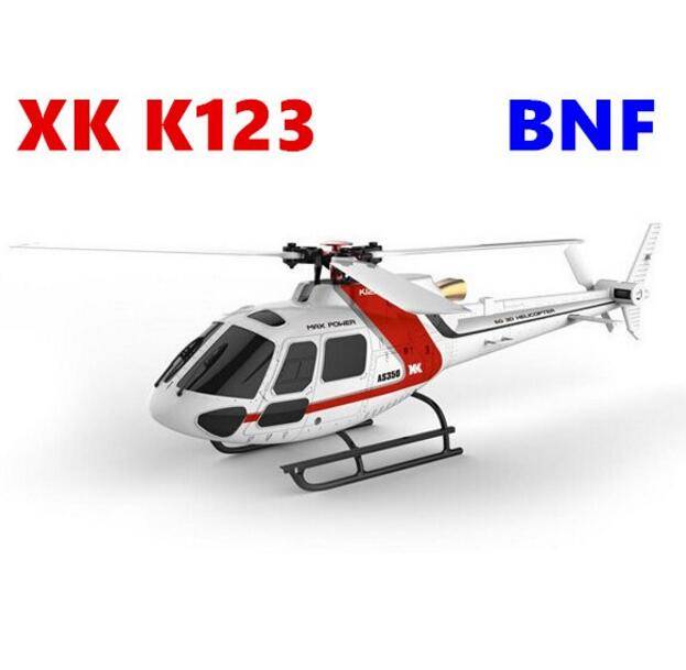 Original c BNF 6CH Brushless AS350 Scale 3D6G System RC Helicopter Without remote control and battery