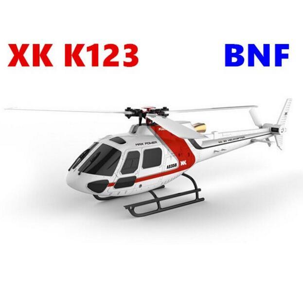 Original c BNF 6CH sin escobillas AS350 escala 3D6G sistema RC helicóptero (sin control remoto y batería)-in Partes y accesorios from Juguetes y pasatiempos    1