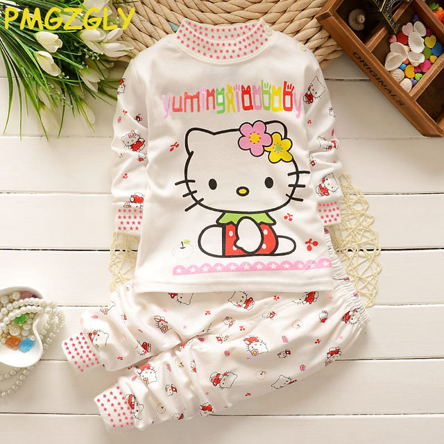 Toddlers Long sleeved tops and Long legged pants,Pajamas Sets for boys and girls