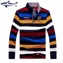 Brand Men's Sweaters Tace&Shark Mens Pullover Sweaters Male Half Turtleneck Classic Autumn And Winter POLO shirt Casual knitwear