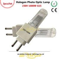 Litewinsune 230 v 1000 w G15 Base Socket Halogeen Foto Optic Lamp Bron Fresnel Spot Project Verlichting Lamp Bron
