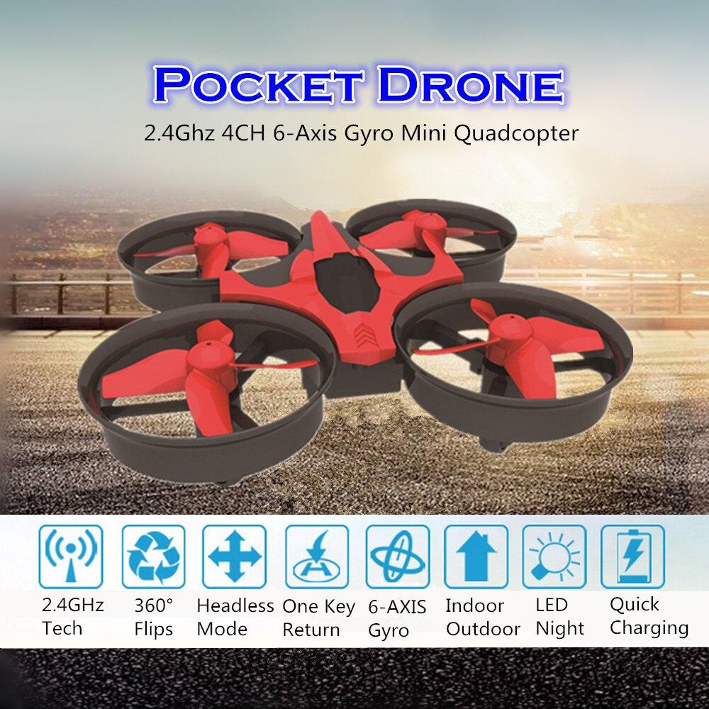 Nh010 карманный мини беспилотный свет Nano rc горючего Безголовый режим Дистанционное управление вертолет Игрушечные лошадки для детей VS H36