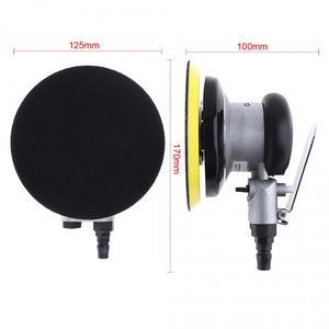 Image 2 - 5 Polegada impulso matte superfície circular pneumática lixa aleatória orbital lixadeira de ar polido máquina moagem mão ferramentas elétricas