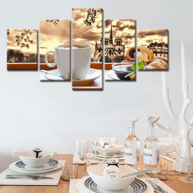 кофе распечатать фото под рамку на кухню этой