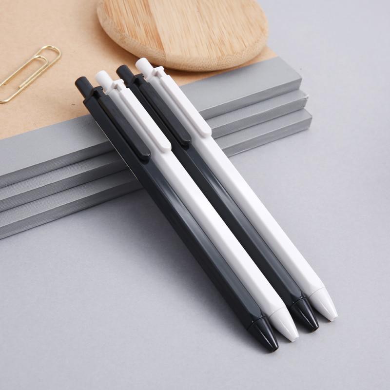 M G This flavor series AGP83007 spring press pen 0 35mm neutral pen signature pen black in Ballpoint Pens from Office School Supplies