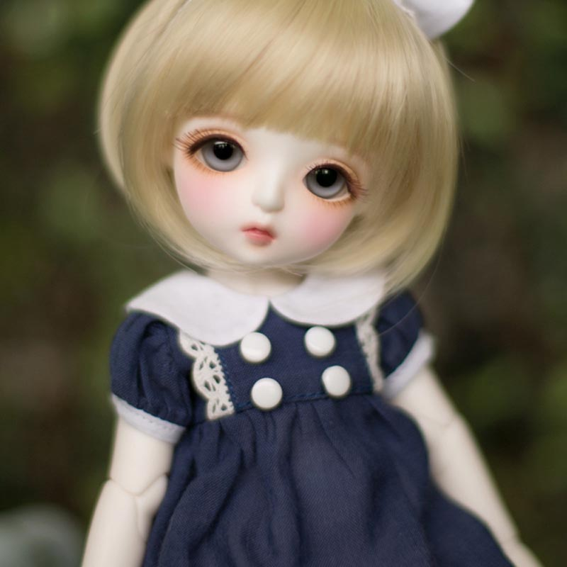1/6 BJD Doll BJD/SD Linas Openmouth Miu Lovely Cute Resin Doll With Eyes For Baby Girl Birthday Gift 1 8 bjd doll bjd sd fashion cute miu with eyes for baby girl gift full set doll clothes shoes wig like picture