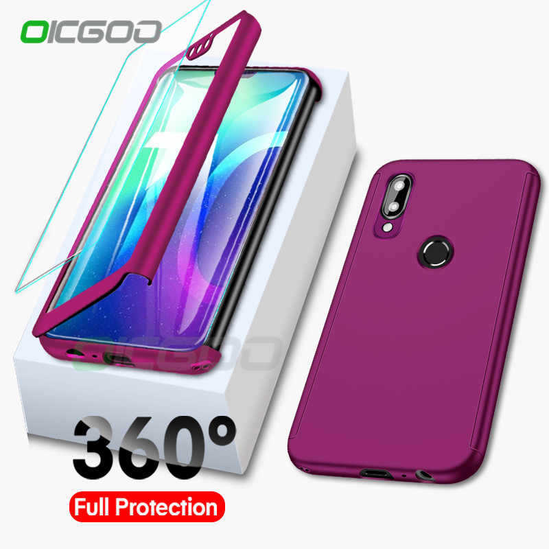 360 Full Body Cover For Huawei Honor 7A 7C 8 8A 8X 9 10 Lite Protective Cases for Huawei P Samrt 2019 Y6 Y7 Y9 2018 Case Coque